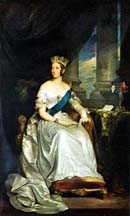 Painting of Queen Victoria